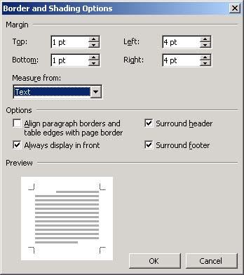 cara memakai bingkai di microsoft word 2007